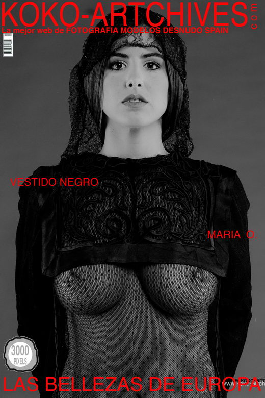 Mario O - `Vestido Negro` - by Kote Cabezudo for KOKO ARCHIVES